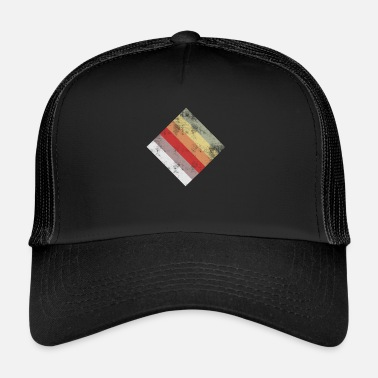 Rectangle rectangle - Casquette trucker