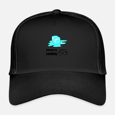 Winter Summer is coming cool cold Funny - Trucker Cap