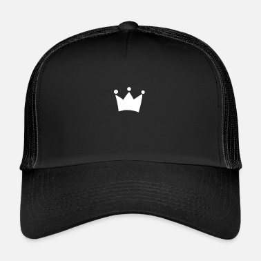 King Queen Crown King Queen - Trucker Cap