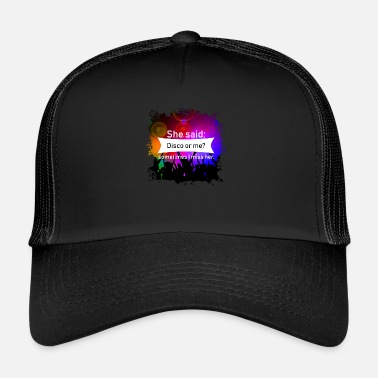 Disco Ball Disco - Trucker Cap