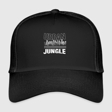 Jungle Stedelijke jungle jungle cadeau - Trucker Cap