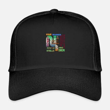 Gas Gas water - Trucker Cap