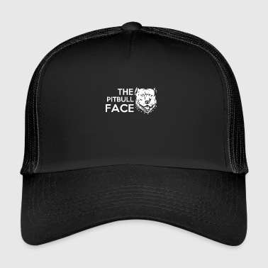 Satyr cute and funny the pit bull face - Trucker Cap