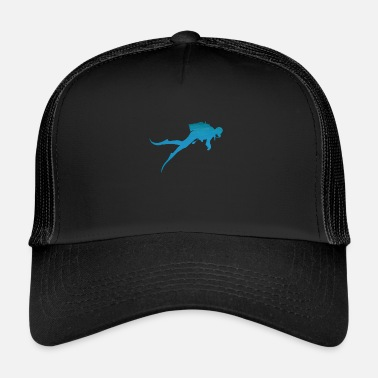 Divers Diver Diver Water Shirt - Trucker Cap