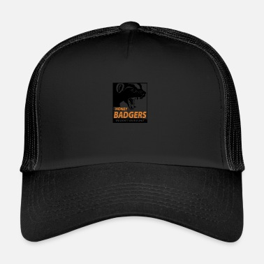 Badger Honey Badger dont give a shit, honey badger - Trucker Cap