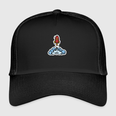 Start ROCKET START - Trucker Cap