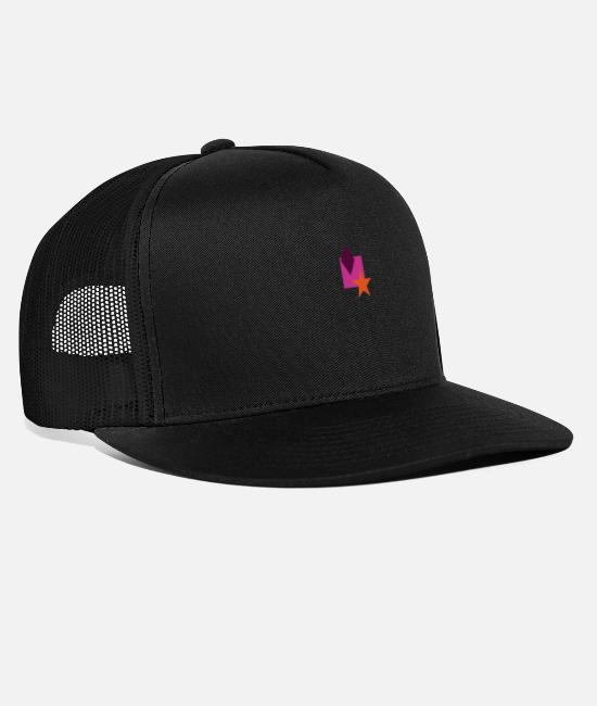 Hipster Caps & Hats - Hip Style - Trucker Cap black/black