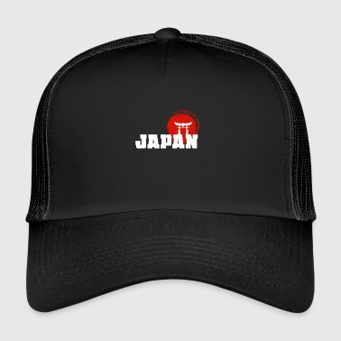 Japan shrine karate tradition gift - Trucker Cap