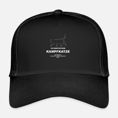 Frustration Battle cat against boredom and frustration tshirt - Trucker Cap