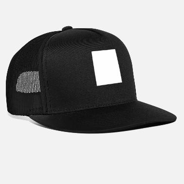 Logo No Need For A Logo - White Square - Trucker Cap
