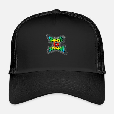 Old School Old school back to school - Trucker Cap