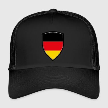 FLAG SHIELD DE L'ALLEMAGNE - Trucker Cap
