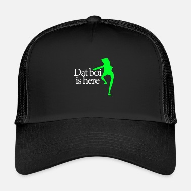 Writing Dat boi shirt white writing - men - Trucker Cap