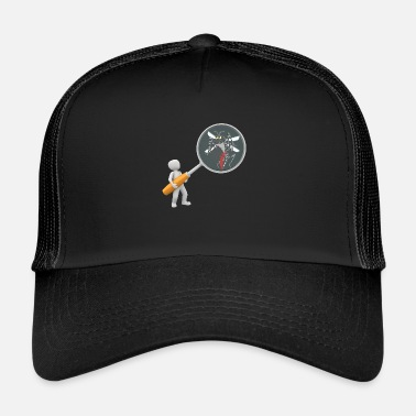Magnifying Glass Magnifying Glass - MOSQUITO (G) - Trucker Cap
