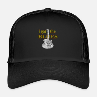 Blues Je me suis BLUES - Trucker Cap