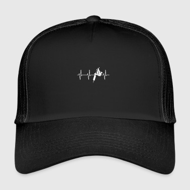 TATTOO HEART BEAT - Trucker Cap