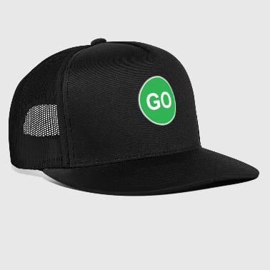 Road sign aller - Trucker Cap