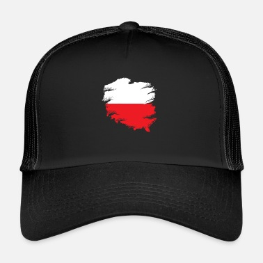 Polish Polish flag - Trucker Cap