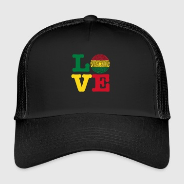 Bolivie coeur bolivie - Trucker Cap
