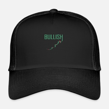 Stock Market BULLISH MARKET - Stock Market Money Trading Rahoitus - Trucker Cap