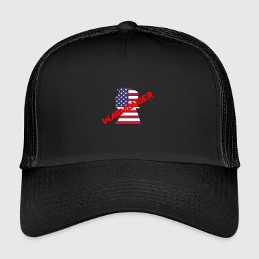 Donald Trump Warmonger - Trucker Cap