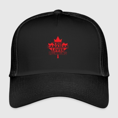 This Canadian loves running / This Canadian loves - Trucker Cap