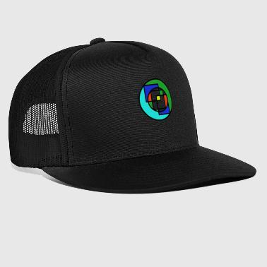 Illustration du cercle - Trucker Cap
