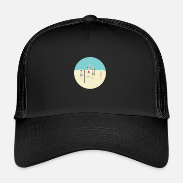Beachvolley Volleyball Beach Sport Idea regalo Beachvolley - Trucker Cap