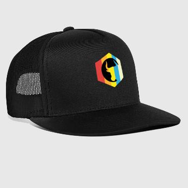 Bull hexagonal - Trucker Cap