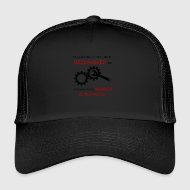 Mechanic saying - Trucker Cap