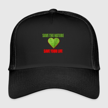 Nature Conservation Nature - Conservation - Mother Earth - Trucker Cap