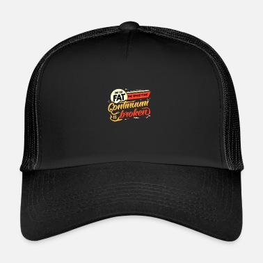 Fat Lazy fat fat fat fat gift idea - Trucker Cap