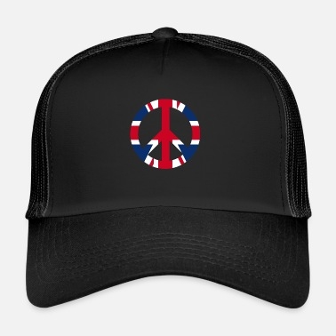 Uk Fredskiltikon UK UK - Trucker Cap