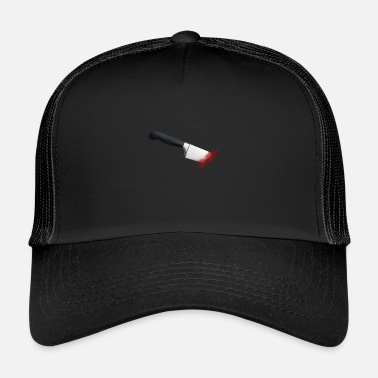 Knife Party knife wound - Trucker Cap