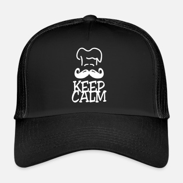 keep calm chef - Trucker Cap