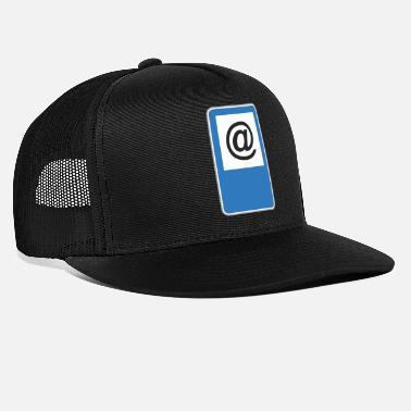 Road Sign Road sign at - Trucker Cap