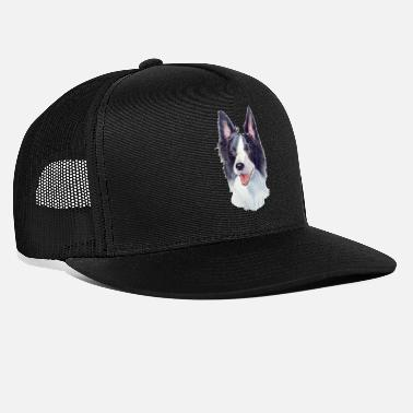 border collie ackv 1 - Casquette trucker