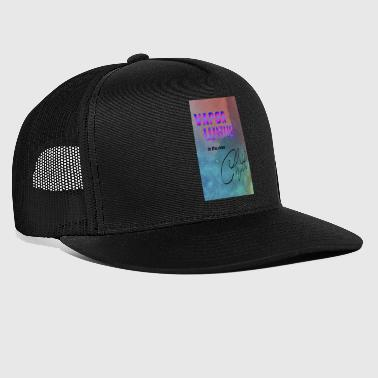 Vapor Wave is the new chill - Trucker Cap