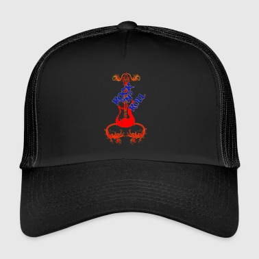 R Rock N Roll - Trucker Cap