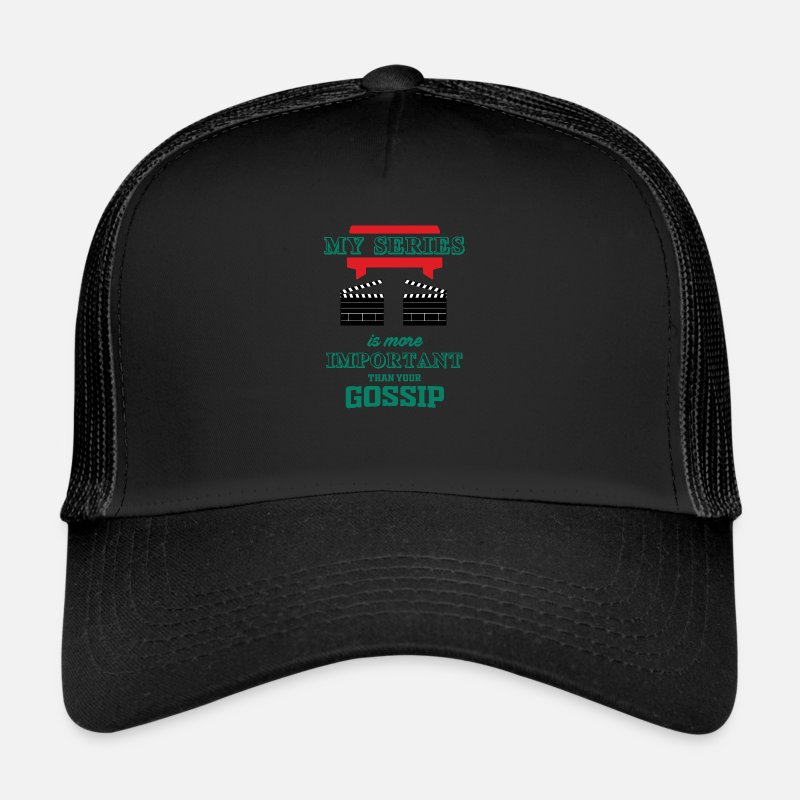 Movie Caps & Hats - Movies - Trucker Cap black/black