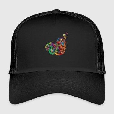 Tribal Dragón - Tribal - Gorra de camionero