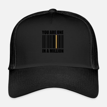 Code-barres un code à barres d'un million de codes à barres - Trucker Cap
