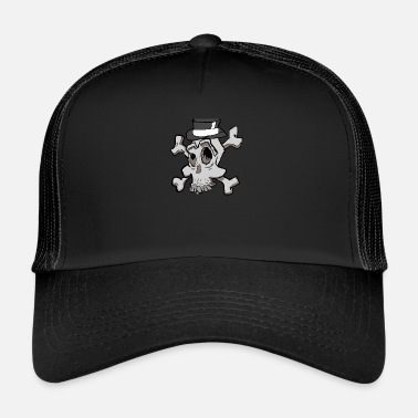 Emotion Chaudaron Skull Emote - Trucker Cap