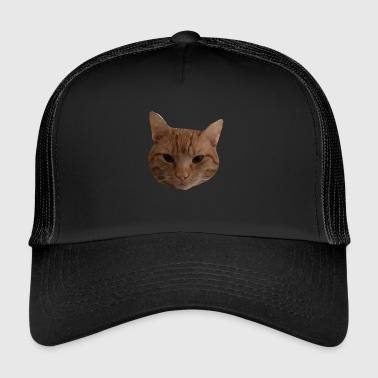Pepe Cat's head red - Trucker Cap