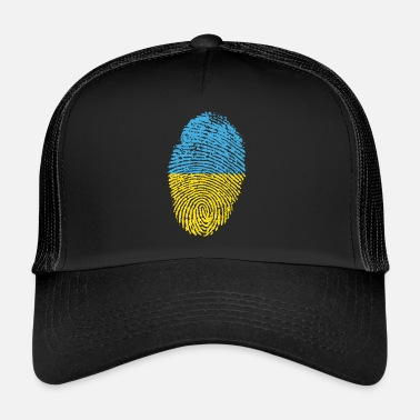Bandera UKRAINA 4 NÅGONSIN COLLECTION - Trucker Cap
