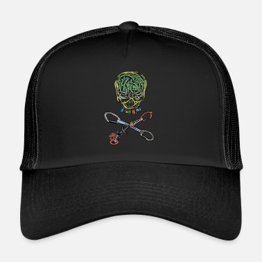 Tête De Pirate Escalade, pirate, tête de mort - Trucker Cap
