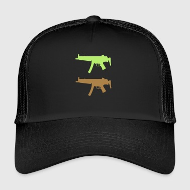 arme uzi fusil munitions - Trucker Cap