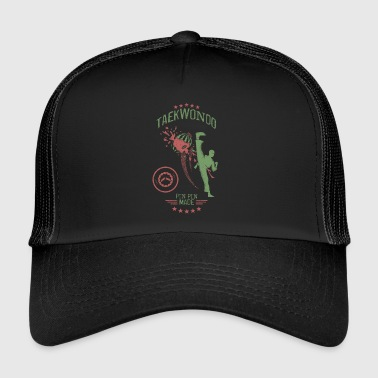 pin pin tatoo - Trucker Cap
