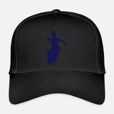 Vector Asian Silhouette - Trucker Cap