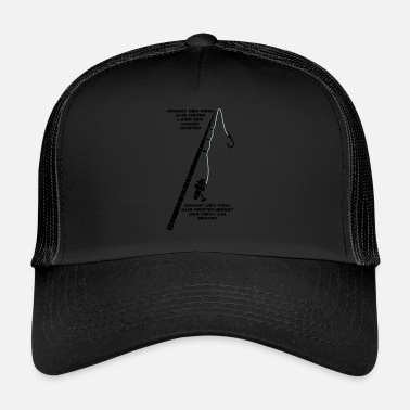 Tail Anglerspruch with tail - Trucker Cap